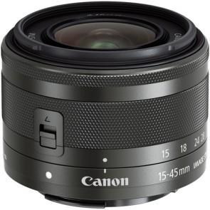Canon EF-M 15-45mm f/3.5-6.3 IS STM Lens - Black