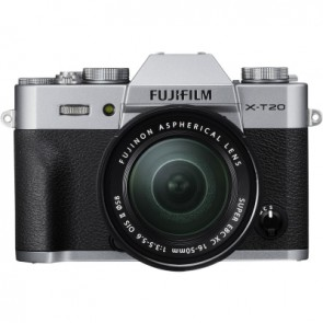 Fujifilm X-T20 Kit with 16-50mm Lens (Silver)