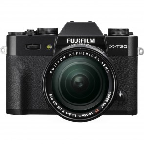 Fujifilm X-T20 Kit with 18-55mm Lens (Black)