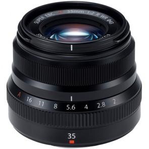 Fujifilm XF 35mm f/2 R WR Fujinon Lens (Black)