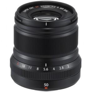 Fujifilm XF 50mm f/2 R WR Fujinon Lens (Black)