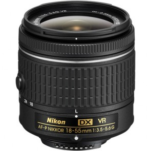 Nikon AF-P DX NIKKOR 18-55mm f/3.5-5.6G VR Lens (Unboxed)