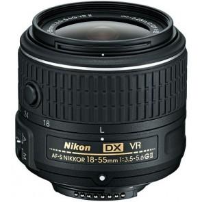 Nikon AF-S Nikkor 18-55mm f/3.5-5.6 G DX VR II Lens
