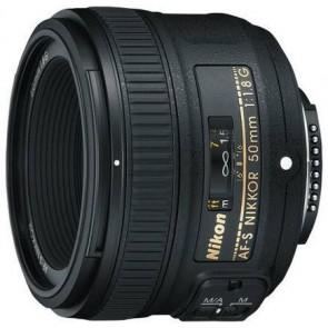 Nikon AF-S Nikkor 50mm f/1.8 G Lens