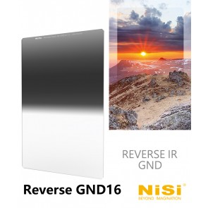 Nisi Nano IR 100x150mm Reverse GND16 / 1.2 / 4-Stops Glass Filter