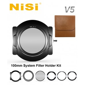 Nisi V5 100mm Filter Holder with Adapter Rings & Integrated CPL