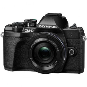 Olympus OM-D E-M10 Mark III with 14-42mm EZ Lens (Black)