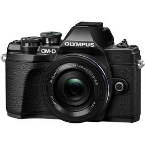 Olympus OM-D E-M10 Mark III with 14-42mm EZ Lens (Black)