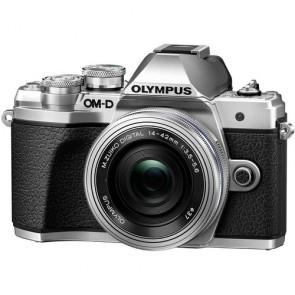 Olympus OM-D E-M10 Mark III with 14-42mm EZ Lens (Silver)