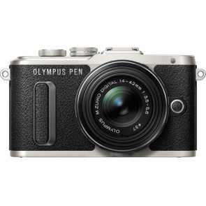 Olympus PEN E-PL8 with 14-42mm Lens (Black)