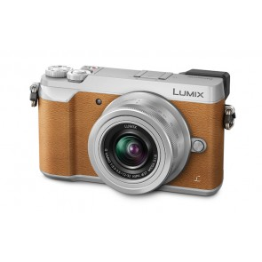 Panasonic Lumix DMC-GX85 / DMC-GX80 with 12-32mm Lens (Brown)