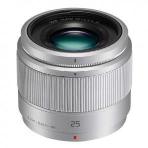 Panasonic LUMIX G 25mm f/1.7 Asph. Lens (Silver)