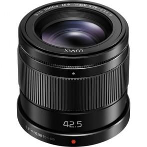 Panasonic LUMIX G 42.5mm f/1.7 ASPH. Power O.I.S. Lens (Black)