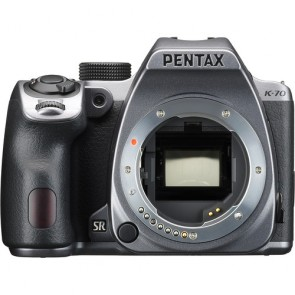 Pentax K-70 DSLR Camera Body (Silver)