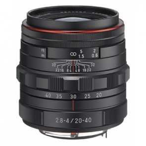 Pentax HD DA 20-40mm f/2.8-4 ED Limited DC WR Lens (Black)