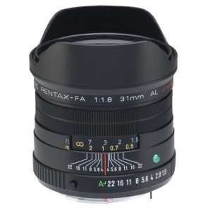 Pentax smc FA 31mm f/1.8 Limited Lens (Black)