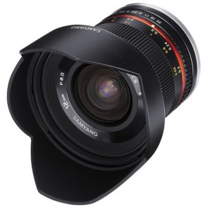 Samyang 12mm f/2.0 NCS CS Lens for Fujifilm X Mount