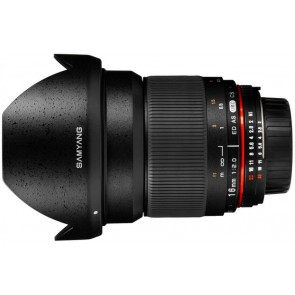 Samyang 16mm f/2.0 ED AS UMC CS Lens for Fujifilm X Mount