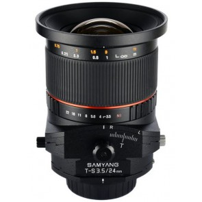 Samyang 24mm f/3.5 ED AS UMC Tilt-Shift Lens for Sony A-Mount