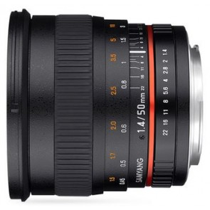Samyang 50mm f/1.4 AS UMC Lens for Fujifilm X Mount