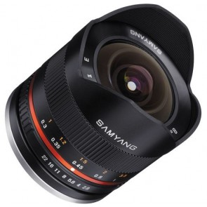 Samyang 8mm f/2.8 UMC Fisheye Lens II for Fujifilm X Mount (Black)