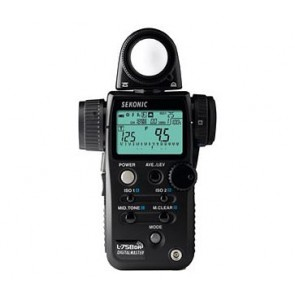 Sekonic L-758DR DigitalMaster Flash Meter with Radio Triggering