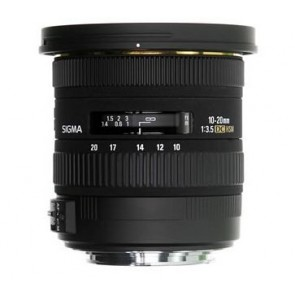 Sigma 10-20mm f/3.5 EX DC HSM Lens for Canon