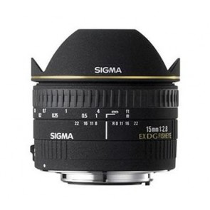 Sigma 15mm f/2.8 EX DG Diagonal Fisheye Lens for Sony/Minolta