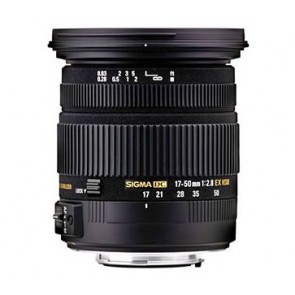 Sigma 17-50mm f/2.8 EX DC HSM Lens for Pentax