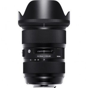 Sigma 24-35mm f/2 DG HSM Art Lens for Canon