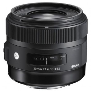 Sigma 30mm f/1.4 DC HSM 'Art' Lens for Nikon