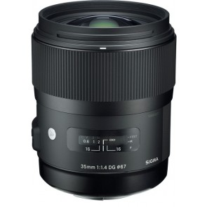Sigma 35mm f/1.4 DG HSM Lens for Sony