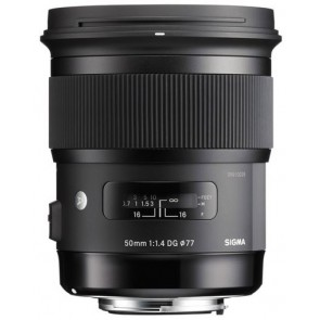 "Sigma 50mm f/1.4 DG HSM ""Art"" Lens for Canon"
