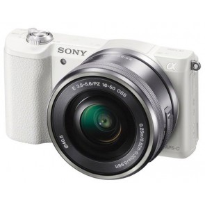Sony a5100 (Alpha 5100) with 16-50mm Lens (White)