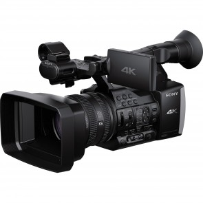 Sony FDR-AX1E 4K Camcorder with Built-In Projector (PAL)