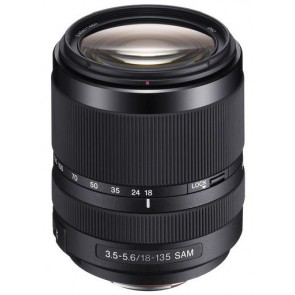 Sony 18-135mm f/3.5-5.6 DT SAM Lens