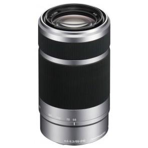 Sony 55-210mm f/4.5-6.3 OSS Lens - Silver