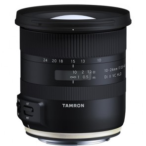 Tamron 10-24mm f/3.5-4.5 Di II VC HLD (B023) Lens for Nikon