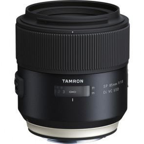 Tamron SP 85mm f/1.8 Di VC USD (F016) Lens for Nikon