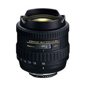 Tokina 10-17mm f/3.5-4.5 AT-X 107 DX Fisheye Lens for Canon