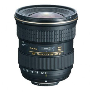 Tokina 11-16mm f/2.8 AT-X 116 Pro DX II Lens for Nikon