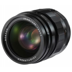Voigtlander 25mm f/0.95 Type II Nokton Lens for Micro Four Thirds