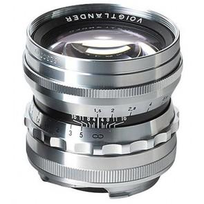 Voigtlander 50mm f/1.5 Nokton Aspherical for Leica M-Mount (Silver)